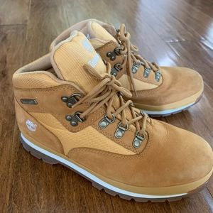 Timberland Youth Euro Hiker Boots Wheat Size 7